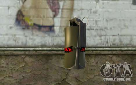 Smoke Grenade para GTA San Andreas segunda tela
