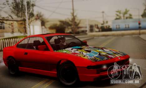 BMW M8 Custom para GTA San Andreas
