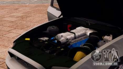 Ford Mustang GT 2014 Custom Kit para GTA 4 vista superior