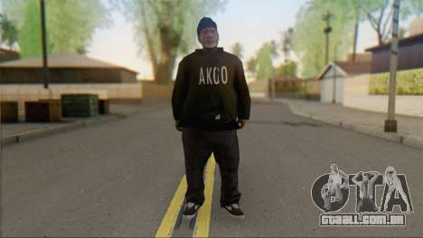 Old Gangster para GTA San Andreas