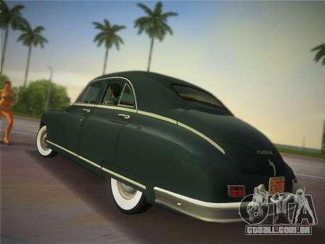 Packard Standard Eight Touring Sedan 1948 para GTA Vice City deixou vista