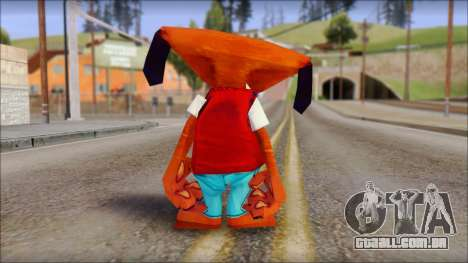 Roofus the Hound from Fur Fighters Playable para GTA San Andreas terceira tela