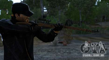 Mosin-Nagant para GTA 4 segundo screenshot