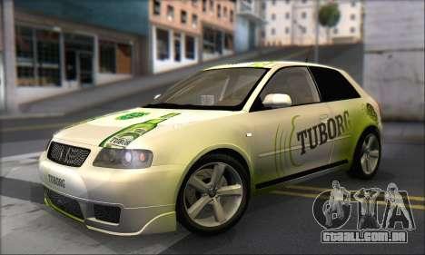 Audi A3 1999 para as rodas de GTA San Andreas