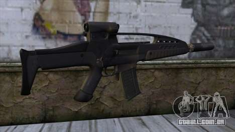 XM8 Assault Black para GTA San Andreas segunda tela