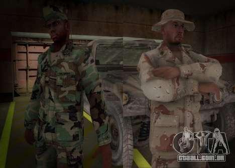 90s California National Guard para GTA San Andreas segunda tela