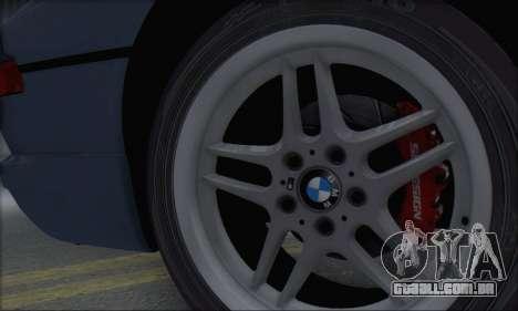 BMW E31 850CSi 1996 para GTA San Andreas vista traseira
