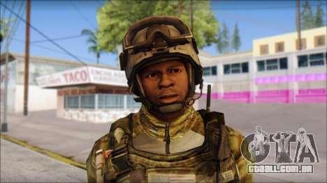 Truck from Modern Warfare 3 para GTA San Andreas terceira tela
