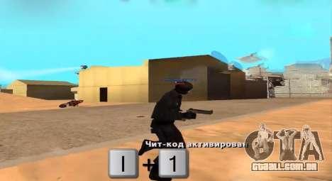 Who Shoots para GTA San Andreas segunda tela