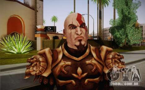 Kratos God Armor para GTA San Andreas terceira tela