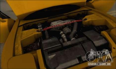 Mazda RX-7 1991 para GTA San Andreas vista inferior
