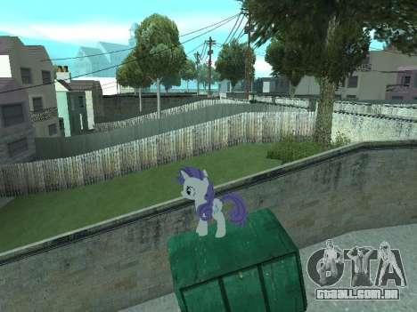 Rarity para GTA San Andreas oitavo tela