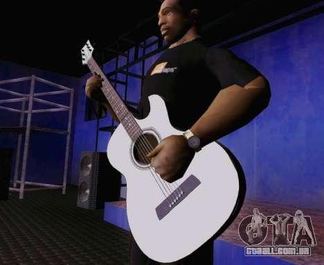 Músicas de Viktor Tsoi guitarra para GTA San Andreas