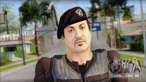 Barney Ross para GTA San Andreas terceira tela