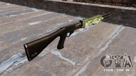 Ружье Franchi SPAS-12 Verde Camo para GTA 4 segundo screenshot