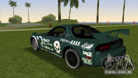 Mazda RX-7 Tuning para GTA Vice City deixou vista