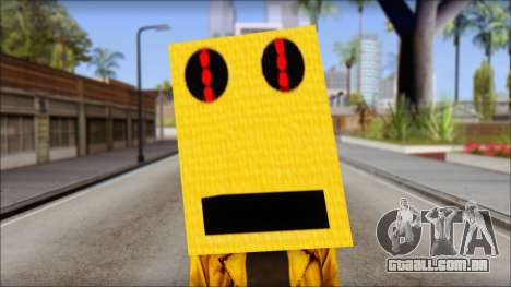 Robot Head LMFAO para GTA San Andreas terceira tela