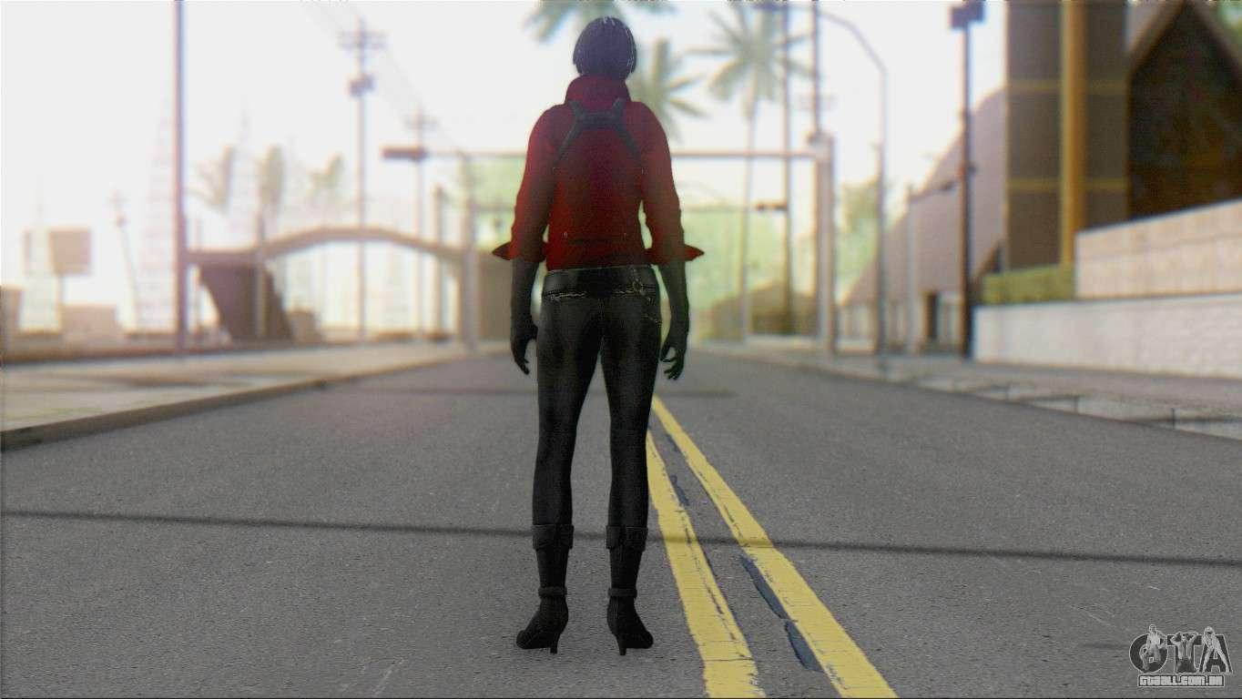 Ada Wong (Special Agent) V1 for GTA San Andreas