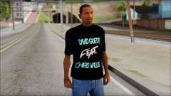 David Guetta Gettin Over T-Shirt para GTA San Andreas
