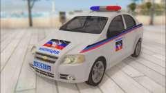 Chevrolet Aveo Polícia DND
