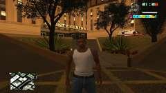 New HUD by Ptaxa1999 para GTA San Andreas