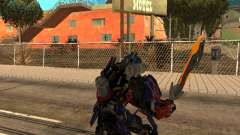 Optimus Sword para GTA San Andreas