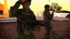 Ataque das forças especiais do interior. para GTA San Andreas