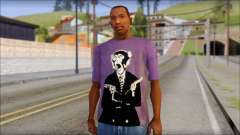 Monkey T-Shirt para GTA San Andreas