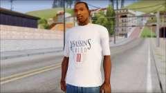 Assassins Creed 3 Fan T-Shirt para GTA San Andreas
