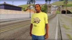 Waffle T-Shirt para GTA San Andreas