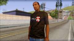 Umbrella Corporation Black T-Shirt para GTA San Andreas
