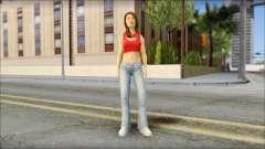 Young Street Girl para GTA San Andreas