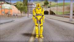 Masterchief Yellow from Halo