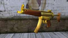 MP5 Gold from CSO NST para GTA San Andreas