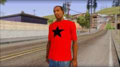 Vidick from Infected Rain Red T-Shirt para GTA San Andreas