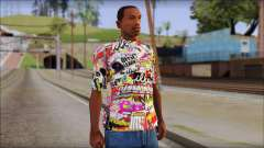 Sticker Bomb T-Shirt para GTA San Andreas