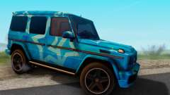 Mercedes-Benz G65 Blue Star para GTA San Andreas