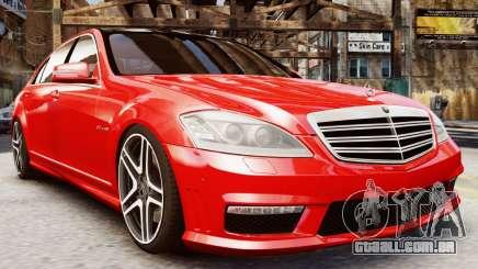 Mercedes-Benz S65 W221 AMG v1.3 para GTA 4