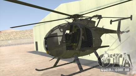 MH-6 Little Bird para GTA San Andreas