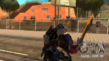 Optimus Sword para GTA San Andreas