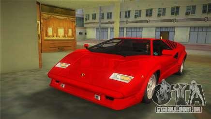 Lamborghini Countach 1988 25th Anniversary para GTA Vice City