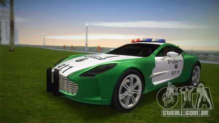 Aston Martin One-77 police para GTA Vice City