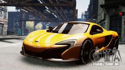McLaren 650S Spider 2014 para GTA 4