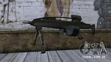 XM8 LMG Olive para GTA San Andreas