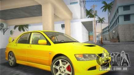 Mitsubishi Lancer Evolution 8 2004 para GTA Vice City
