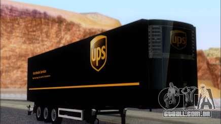 Прицеп United Parcel Service para GTA San Andreas