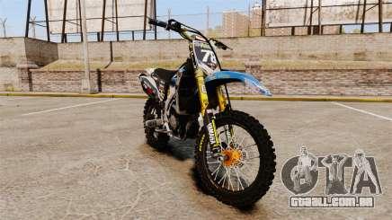 Yamaha YZF-450 v1.14 para GTA 4
