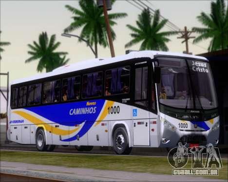 Marcopolo Ideale 770 - Volksbus 17-230 EOD para GTA San Andreas esquerda vista