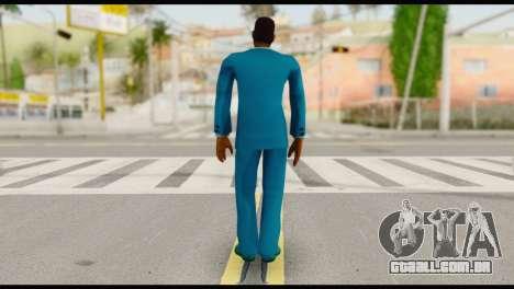 Lance Suit para GTA San Andreas segunda tela