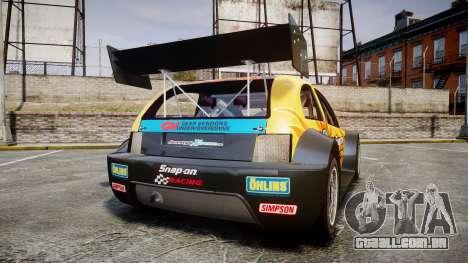Zenden Cup Snap-On para GTA 4 traseira esquerda vista
